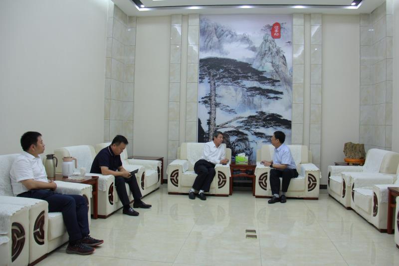 千赢国际手机客户端下载国资利民董事长与中国铁建投资集团领导进行会谈
